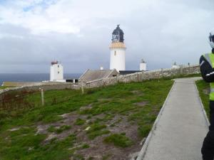 Lighthouse at Dunnets Head